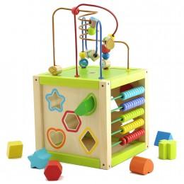 Развивающая игрушка МДИ Универсальный куб