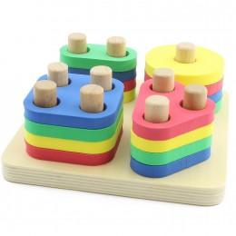 Развивающая игрушка МДИ Логический квадрат