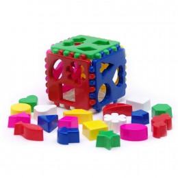 Игрушка Каролина Кубик логический большой