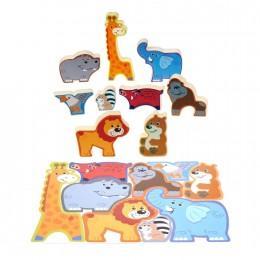 Пазл-головоломка Playgo Животные сафари