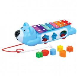 Игрушка ToysLab Сортер ксилофон-каталка
