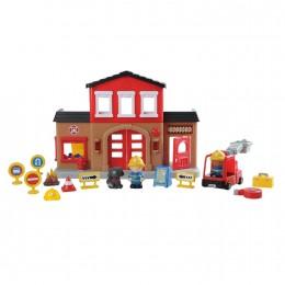 Набор игровой Playgo Пожарная станция Play