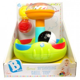 Развивающая игрушка B kids Юла с шариками Sensory