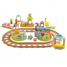 Набор игровой Playgo Поезд сафари Play