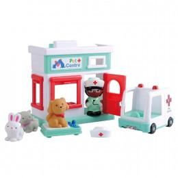 Набор игровой Playgo Ветеринаринарная клиника Play
