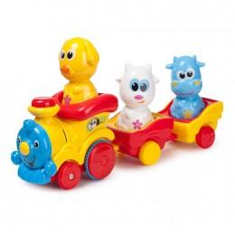 Поезд Baby Go с животными