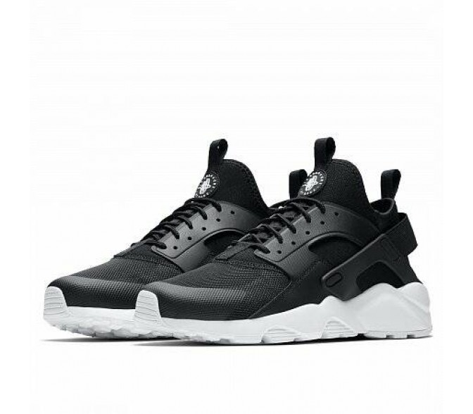 Кроссовки Nike AIR HUARACHE RUN ULTRA (Цвет Black-White)