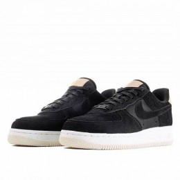 AIR FORCE 1 '07 PREMIUM (Цвет Blac-Summit White-Light Cream)