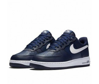 AIR FORCE 1 (Цвет Midnight Navy-White)
