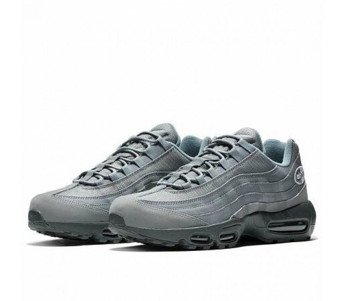 Кроссовки Nike AIR MAX 95 (Цвет Cool Grey-Anthracite-White)
