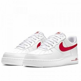 AIR FORCE 1 '07 3 (Цвет White-Gym Red)