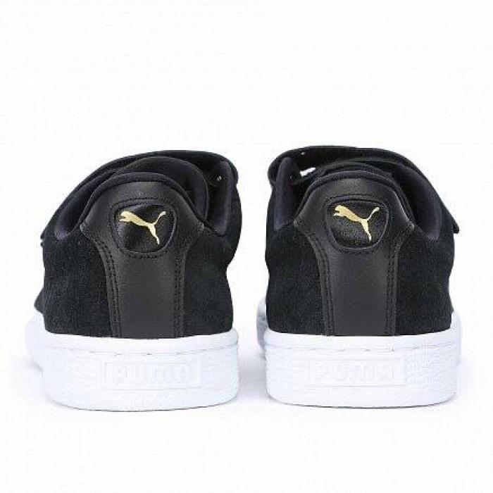 Кроссовки Puma BASKET STRAP EXOTICSKIN (Цвет Black)