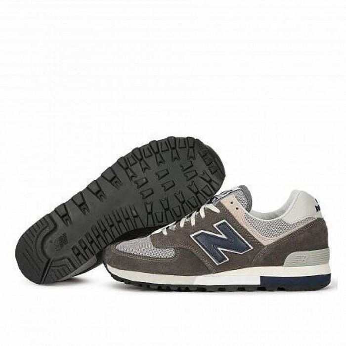 Кроссовки New Balance 576 OG PACK MADE IN ENGLAND (Цвет Grey-Navy)