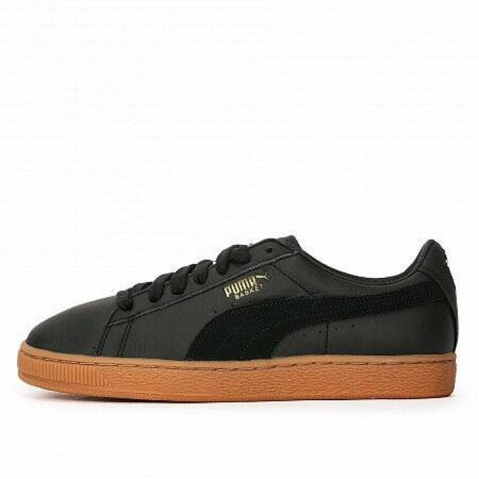 Кроссовки Puma BASKET CLASSIC GUM DELUXE BLACK