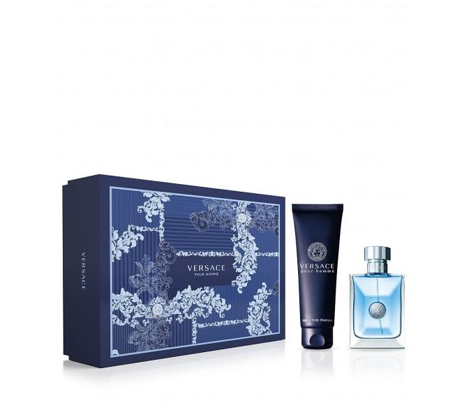 Подарочный набор Versace Pour Homme set (30ml edt+s/g 50ml)