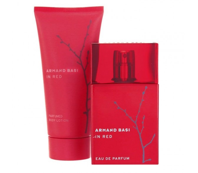 Подарочный набор Armand Basi IN Red (L) set (50ml edp+b/l 100ml)