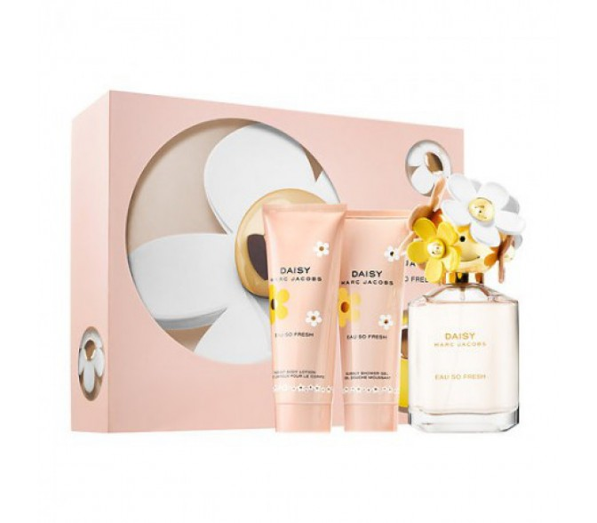 Подарочный набор Marc Jacobs  Daisy (L) set ( 50ml edt+75ml b/l+75mls/g)