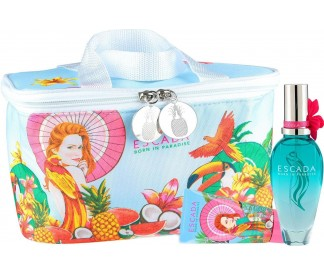 BORN IN PARADISE (L) NEW SET (50ML EDT+B/L 50ML+COOLER POUCH)