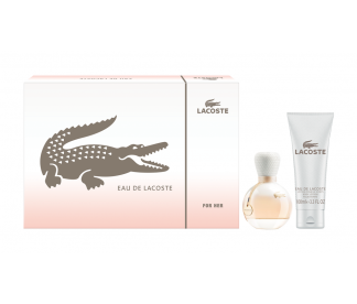 EAU DE LACOSTE (L) SET (50ML EDP+100ML B/L)