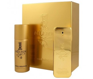 1 MILLION (M) SET (100ML EDT+DEO 150ML)