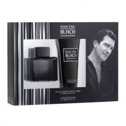 SEDUCTION IN BLACK (M) SET (100ML EDT+100ML A/S)
