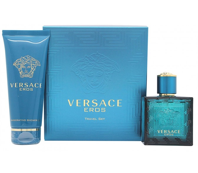 Подарочный набор Versace Eros (M) set (30ml edt+s/g 50ml)