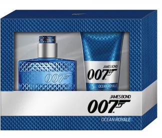 JAMES BOND 007 (M) SET (30ML EDT+50ML S/G)