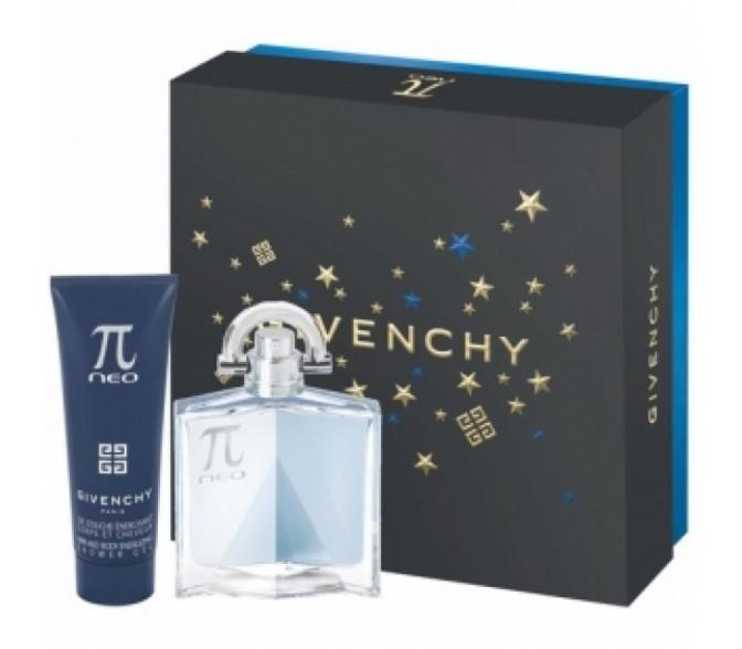 Подарочный набор Givenchy  Pi Neo (M) set (50ml edt+s/g 75ml)