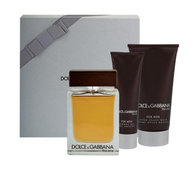 Подарочный набор Dolce&Gabbana Dolce&Gabbana (M) set (125ml edt+a/s balm 100ml+s/g 50ml)