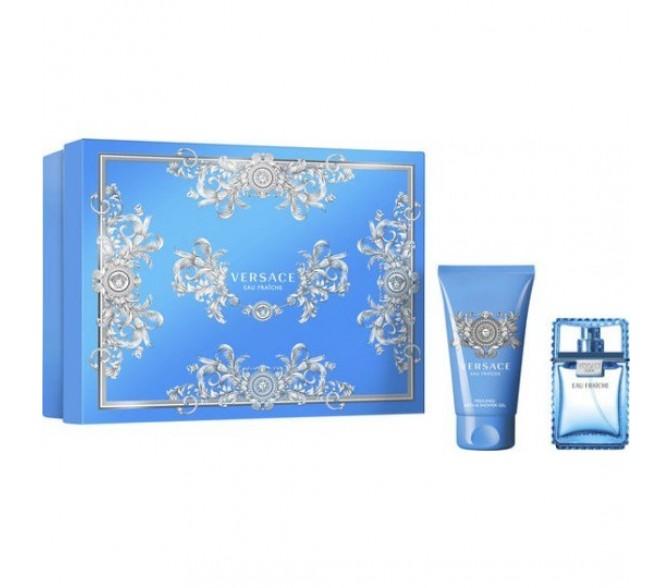 Подарочный набор Versace Man Eau Fraiche set (30ml edt+s/g 50ml)