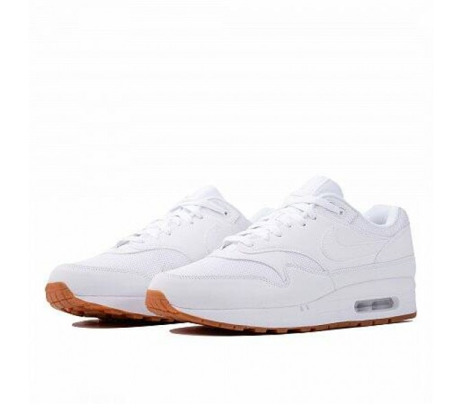 Кроссовки Nike AIR MAX 1 (Цвет White-Gum Med Brown)