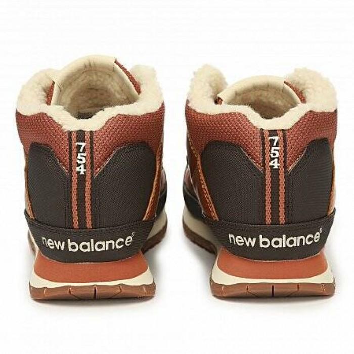 Кроссовки New Balance 754 WINTER (Цвет Brown-Black)
