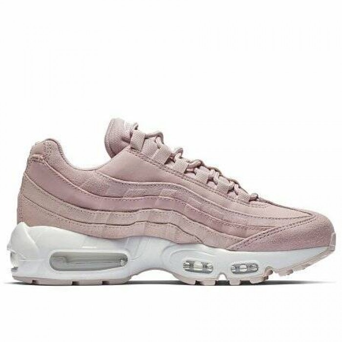 Кроссовки Nike AIR MAX 95 PREMIUM (Цвет Plum Chalk-Barely Rose-Summit White)