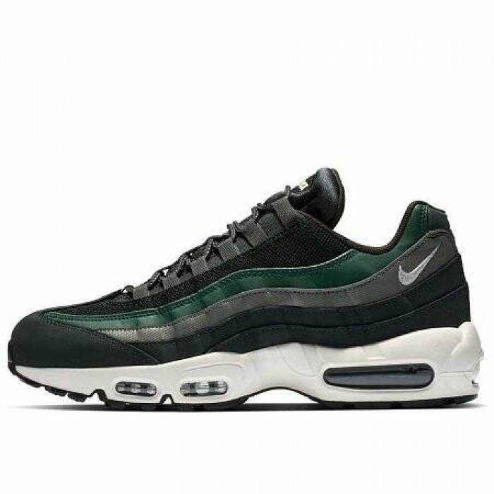 Кроссовки Nike AIR MAX 95 ESSENTIAL (Цвет Outdoor Green-Sail-Fir-Vintage Lichen)