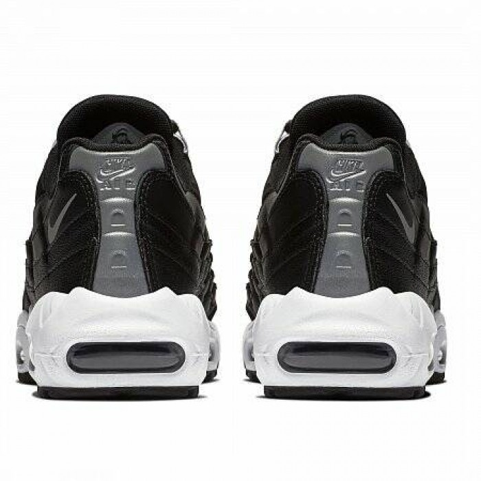 Кроссовки Nike AIR MAX 95 (Цвет Black-Reflect Silver-Black-White)