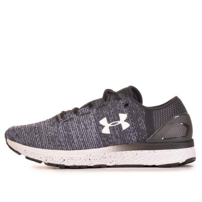 Кроссовки Under Armour CHARGED BANDIT 3 (Цвет Black-White-White)