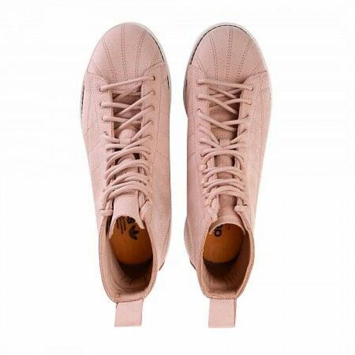 Кроссовки Adidas Originals SUPERSTAR BOOT (Цвет ASH PEARL)