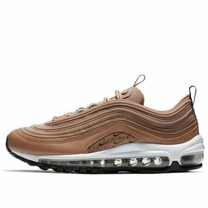 Кроссовки Nike AIR MAX 97 LUX (Цвет Desert Dust-Black-White)