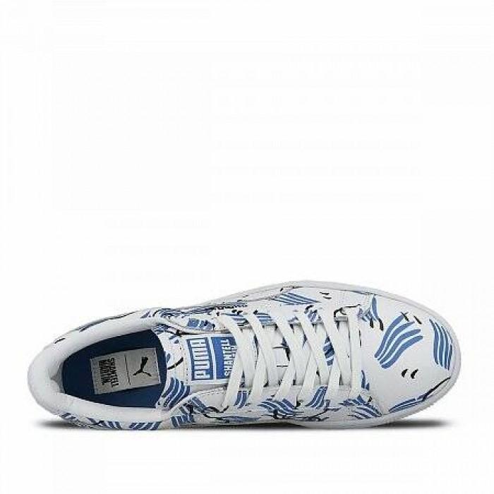 Кроссовки Puma BASKET SHANTELL MARTIN (Цвет White)