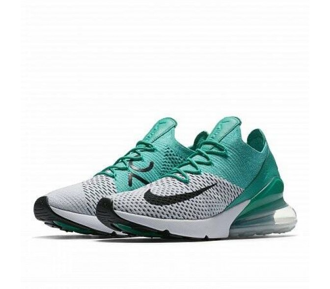 Кроссовки Nike AIR MAX 270 FLYKNIT (Цвет Turquoise-White)