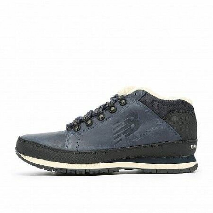 Кроссовки New Balance 754 WINTER (Цвет Blue-Black)