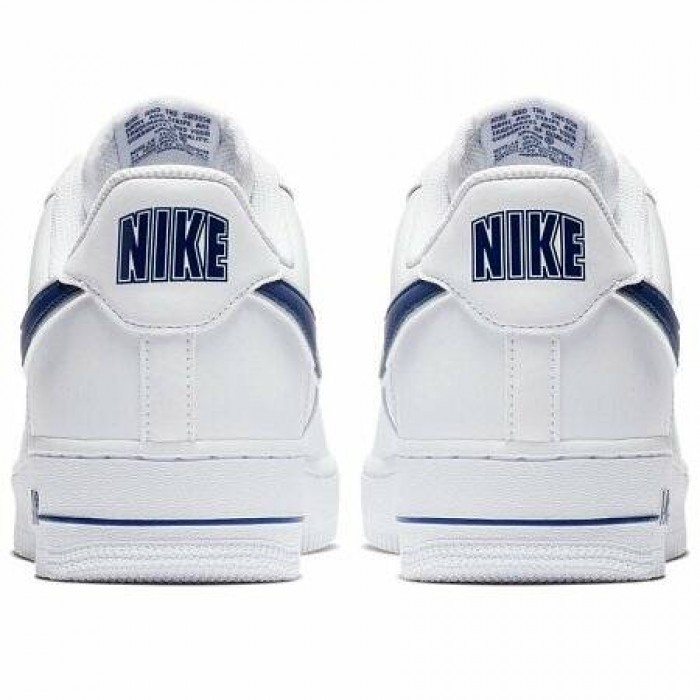 Кроссовки Nike AIR FORCE 1 '07 3 (Цвет White-Deep Royal)
