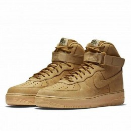 AIR FORCE 1 HIGH '07 LV8 WB FLAX (Цвет Brown)