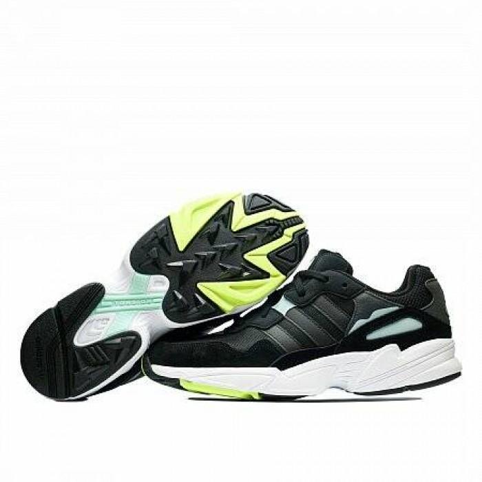 Кроссовки Adidas Originals YUNG-96 (Цвет Core Black-Clear Mint)
