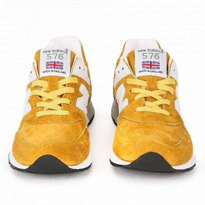 Кроссовки New Balance 576 COLOUR CIRCLE MADE IN ENGLAND (Цвет Yellow)