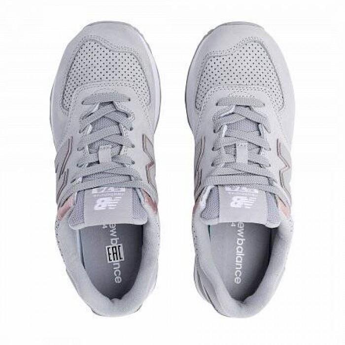 Кроссовки New Balance 574 (Цвет Gray-Pink)