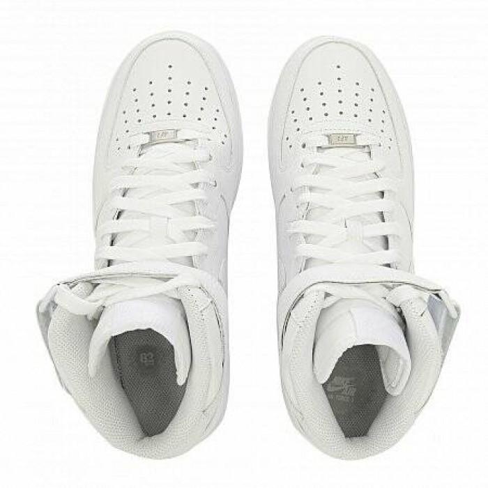 Кроссовки Nike AIR FORCE 1 MID '07 (Цвет White)