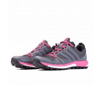 TERREX AGRAVIC GORE-TEX (Цвет Grey Four-Grey Four-Real Magenta)