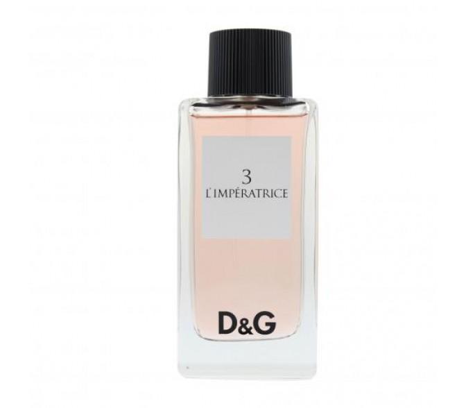 Туалетная вода Dolce&Gabbana №3 L`Imperatrice (L) 50ml edt