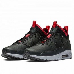 AIR MAX 90 ULTRA MID WINTER (Цвет Anthracite-Black-Solar Red)
